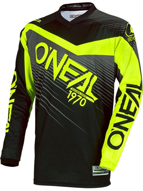 ONeal Element Jersey Men Racewear black/hi-voz